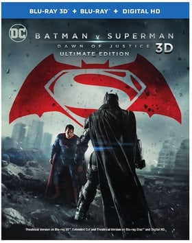 Batman v Superman: Dawn of Justice 3D (Blu-ray 3D + Blu-ray + Digital HD) (Ultimate Edition)
