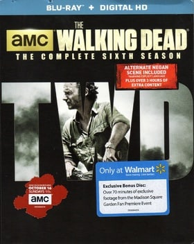 The Walking Dead: The Complete Sixth Season Blu-ray