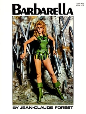 Barbarella (Movie Tie-In with Jane Fonda Cover)