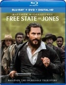 Free State of Jones (Blu-ray + DVD + Digital HD)