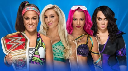 Bayley vs. Charlotte Flair vs. Nia Jax vs. Sasha Banks (WWE, Wrestlemania 33)