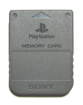 Official Sony Playstation Memory Card