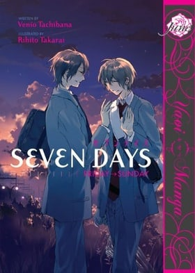 Seven Days: Friday - Sunday  (Yaoi)