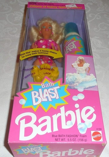 Bath Blast Barbie
