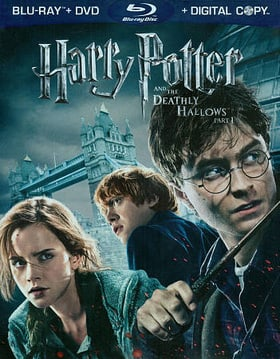 Harry Potter and the Deathly Hallows: Part 1  (Three-Disc Blu-ray / DVD Combo)