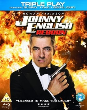 Johnny English Reborn - Triple Play (Blu-ray + DVD + Digital Copy)