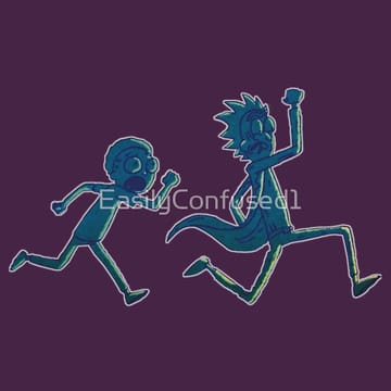 Rick and Morty Running
