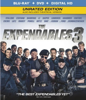 The Expendables 3 (Blu-ray + DVD + Digital HD) (Unrated Edition)
