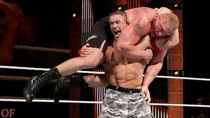John Cena vs. Brock Lesnar (WWE, Night of Champions 2014)