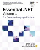 Essential .NET, Volume I: The Common Language Runtime (Microsoft .NET Development Series) (Paperback