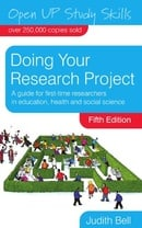 Doing Your Research Project: A Guide for First-Time Researchers in Education, Health and Social Scie