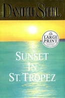 Sunset in St. Tropez (Random House Large Print)