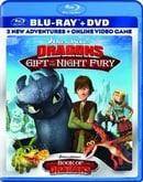 DreamWorks Dragons: Gift of the Night Fury / Book of Dragons Double Pack (Two-Disc Blu-ray/DVD Combo