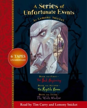 A Series of Unfortunate Events - Lemony Snicket Gift Pack: 1-3: