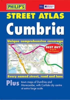 Street Atlas Cumbria (Pocket Street Atlas)