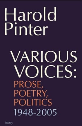 Various Voices: Prose, Poetry, Politics 1948-2005