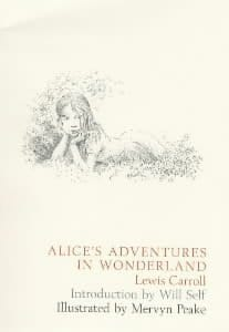 Alice's Adventures in Wonderland: Illustrated by Mervyn Peake
