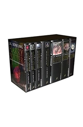 Harry Potter Boxed Set  (Adult Edition): Contains: Philosopher's Stone / Chamber of Secrets / Prisoner of Azkaban / Goblet of Fire / Order of the ... Hollows (Contains all 7 books in the series)