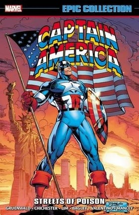 Captain America Epic Collection: Streets of Poison (Epic Collection: Captain America)