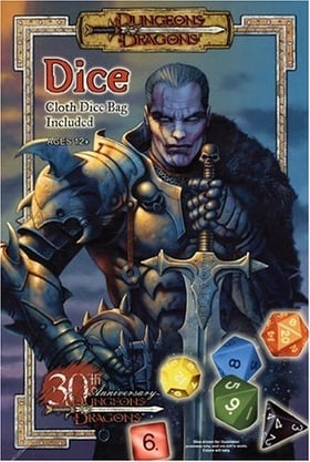 Dungeons & Dragons Dice: Dungeons & Dragons Accessory (Dungeon & Dragons Roleplaying Game: RPG Accessories)
