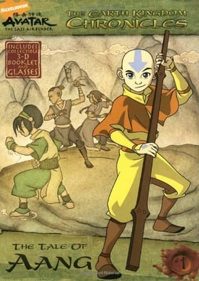 The Earth Kingdom Chronicles: The Tale of Aang [With 3-D GlassesWith Booklet] (Avatar, the Last Airbender)