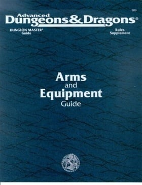 Dungeon Masters Arms and Equipment Guide (Advanced Dungeons&Dragons, Dungeon Master's Guide, Rules Supplement/Dmgr3 Accessory 2123)