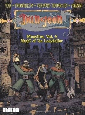 Dungeon Monstres Vol.4: Night of the Ladykiller