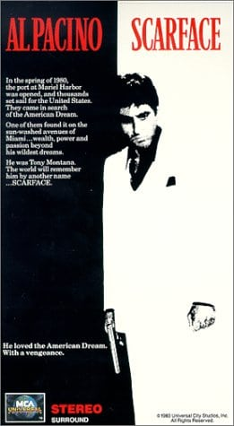 Scarface (1983) (2 Tapes) [VHS]