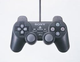 Official Sony Playstation Dual Shock Controller - Black