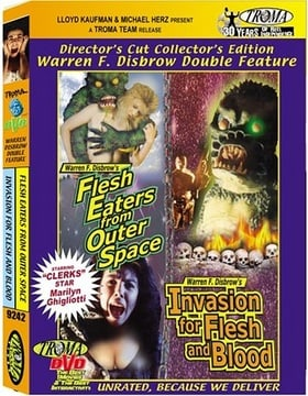 Flesh Eaters from Outer Space / Invasion for Flesh and Blood (Warren F. Disbrow Double Feature)