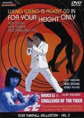 For Your Height Only / Challenge of the Tiger   [Region 1] [US Import] [NTSC]
