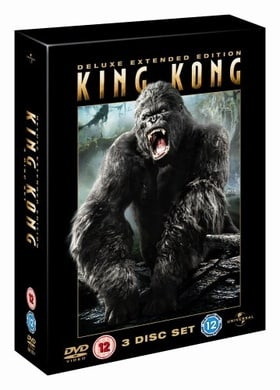 King Kong Deluxe Extended Edition 3 Disc Set