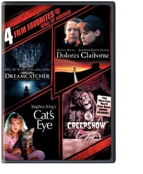 4 Film Favorites: Stephen King (Creepshow, Dolores Claiborne, Dreamcatcher, Stephen King's Cat's Eye