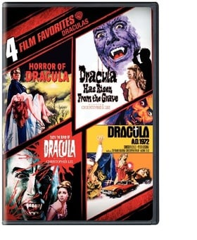 Dracula 4 Film Collection (2 Disc Box Set)