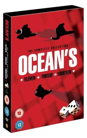Ocean's Eleven, Twelve and Thirteen (Incl. Master of The Heist 45 Min Documentary) (4 Disc) [Import