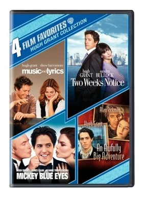 4 Film Favorites: Hugh Grant (An Awfully Big Adventure, Mickey Blue Eyes, Music and Lyrics, Two Week