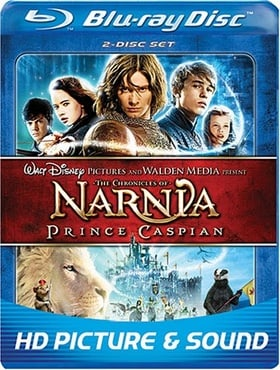 The Chronicles of Narnia: Prince Caspian (Two Disc Edition + BD-Live)