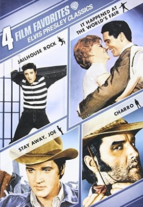 Elvis Presley Classics: 4 Film Favorites (Jailhouse Rock / It Happened at the World's Fair / Stay Aw