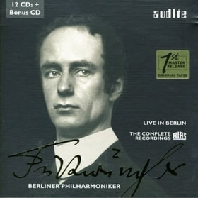 Edition Wilhelm Furtwängler - The Complete RIAS Recordings