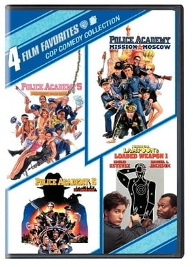 4 Film Favorites: Cop Comedies (National Lampoon's Loaded Weapon, Police Academy 5, Police Academy 6