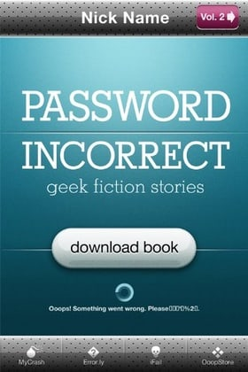 Password Incorrect (Geek Fiction Stories Vol. 1/2)