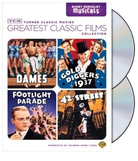 TCM Greatest Classic Film Collection: Busby Berkeley (Dames / Gold Diggers of 1937 / Footlight Parad