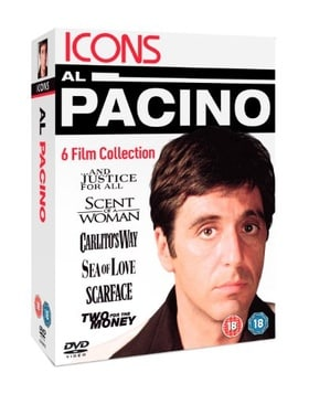 Al Pacino - And Justice For All/Scent Of A Woman/Carlito's Way/Sea Of Love/Scarface/Two For The Mone