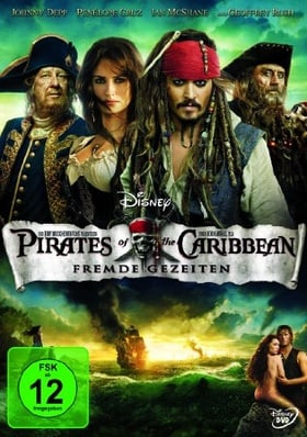 Fluch der Karibik 4 (DVD)Fremde Gezeiten Pirates of the Caribbean Min: 132DD5.1WS [Import germany]