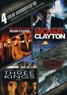 4 Film Favorites: George Clooney (Michael Clayton / Ocean's Eleven (2011) / The Perfect Storm / Thre