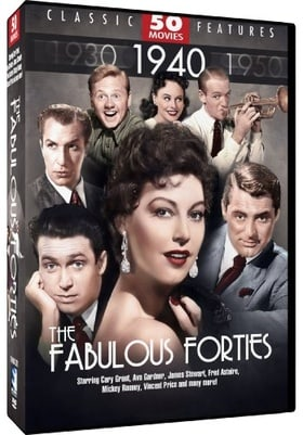 Fabulous Forties - 50 Movie Pack: D.O.A - His Girl Friday - My Man Godfrey - Second Chorus - This is