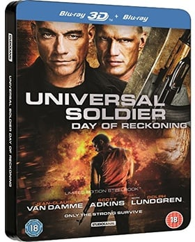 Universal Soldier Day of Reckoning Blu-Ray 3D/2D Rare UK Steelbook Edition