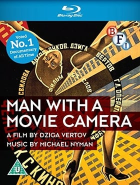 Man With a Movie Camera (Blu-ray)
