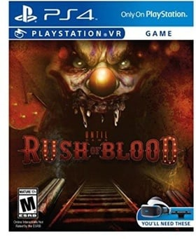 PSVR Until Dawn: Rush of Blood