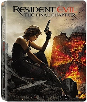 Resident Evil: The Final Chapter  (Steelbook)